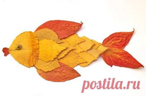 поделки из осенних листьев 1 класс - 140 тыс. картинок. Поиск Mail.Ru