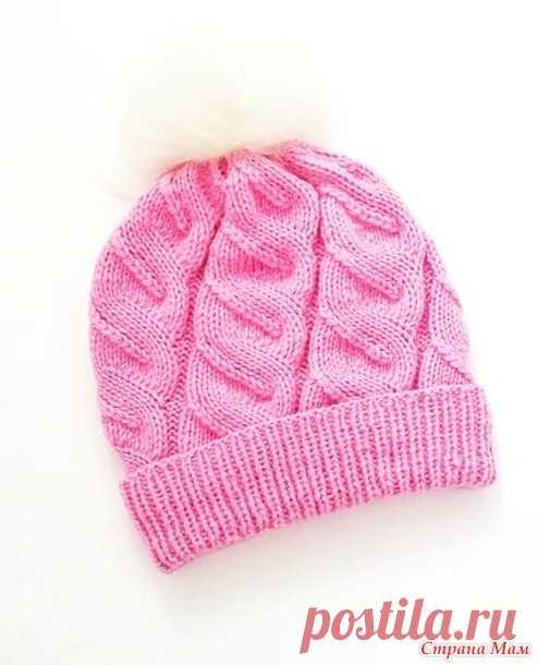 . Зимняя двойная шапка - Вязание - Страна Мам
