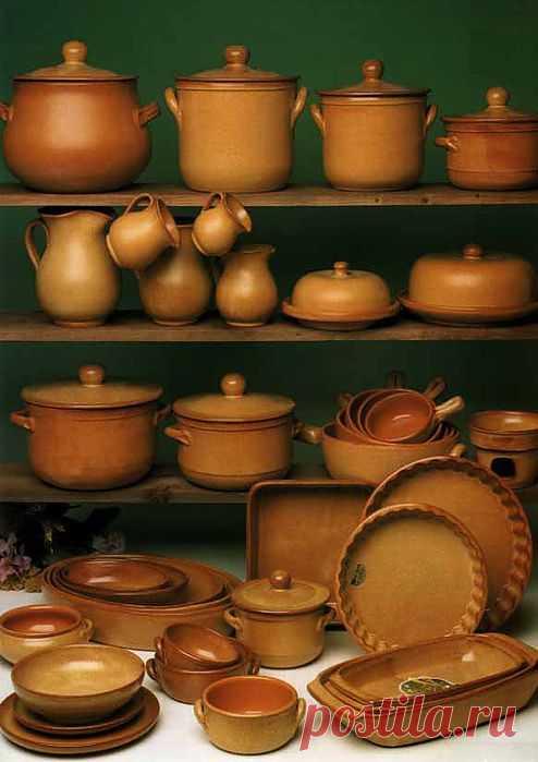 Энергетика керамической посуды.