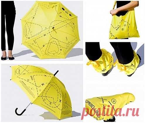 Многоразовый зонтик / Рисунки и надписи / Модный сайт о стильной переделке одежды и интерьера