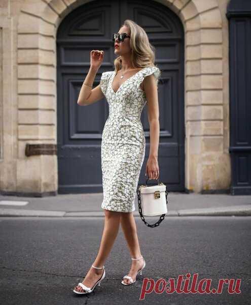 3eae1c4dd82 Элегантное летнее платье - все размеры выкройки