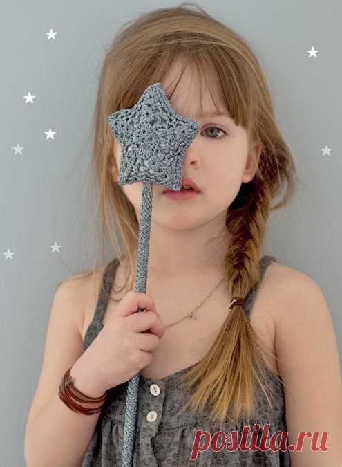 La barita mágica - el instrumento obligatorio de trabajo de la pequeña hada