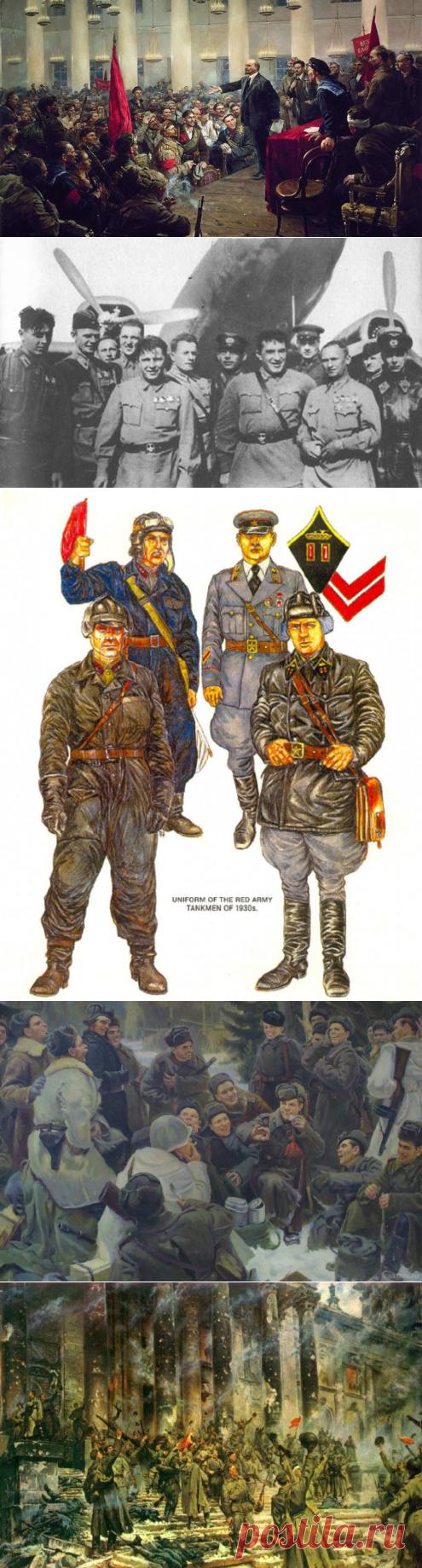 Зачем Красной Армии понадобились ромбы, шпалы, квадраты и треугольники? | Культура