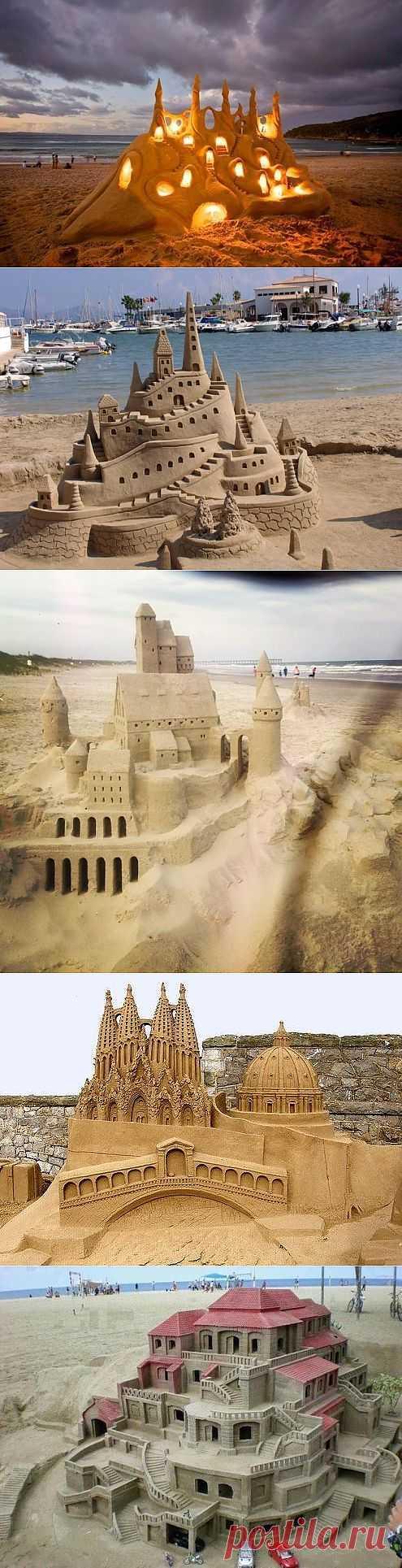 » Грандиозные произведения искусства из песка Это интересно!