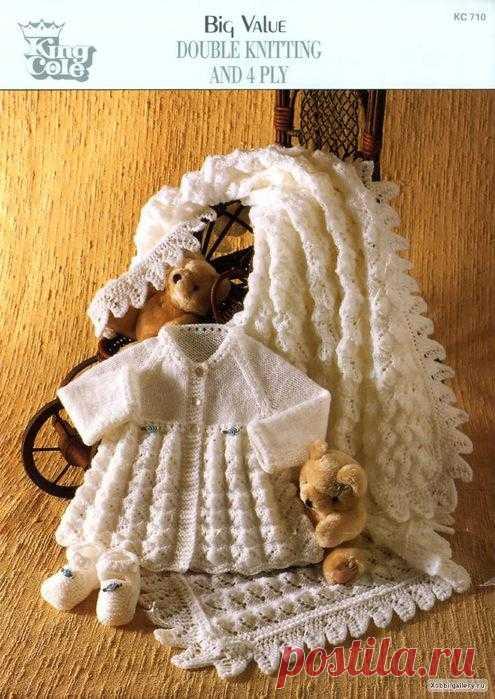 Вязание для детей. Есть описание каймы.