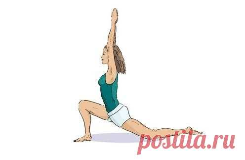 The yoga for a press takes only 15 minutes!
