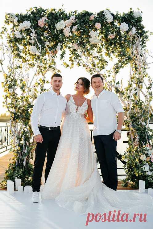 Свадьба на набережной - Свадьбы - Сообщество декораторов текстилем и флористов