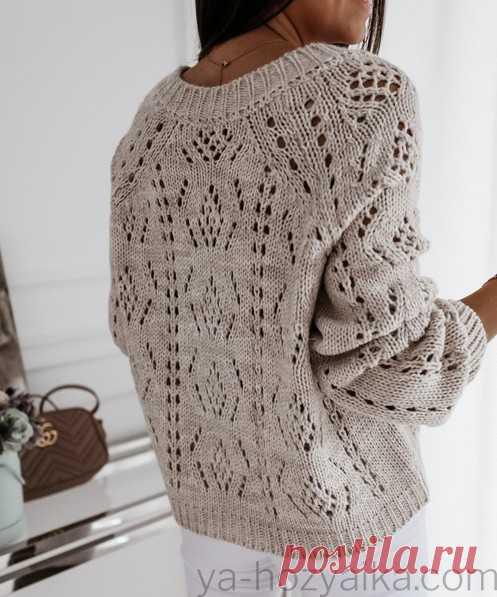 Вязаная кофта спицами для женщин стильная. Модные вязаные кофты спицами схемы 2020