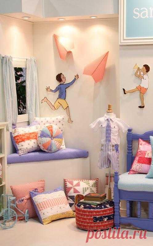 Великолепный дизайн детских комнат. Акцент на деталях.