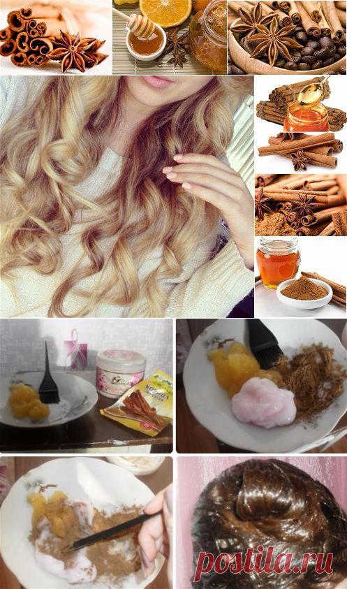 образом, осветление волос корицей лимоном и медом фото эта