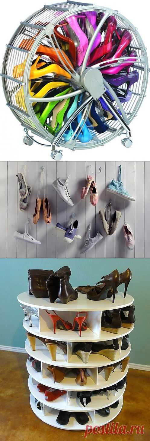 Мечта Золушки / Организованное хранение / Модный сайт о стильной переделке одежды и интерьера