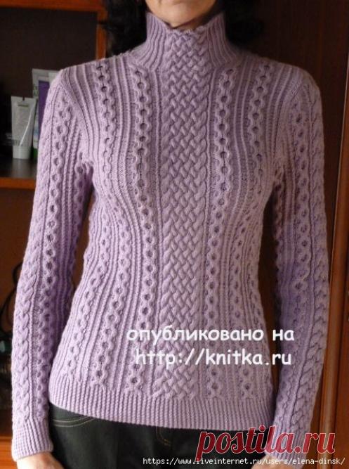 Свитер и пуловер спицами с описанием | Хозяйка своего дома | Яндекс Дзен