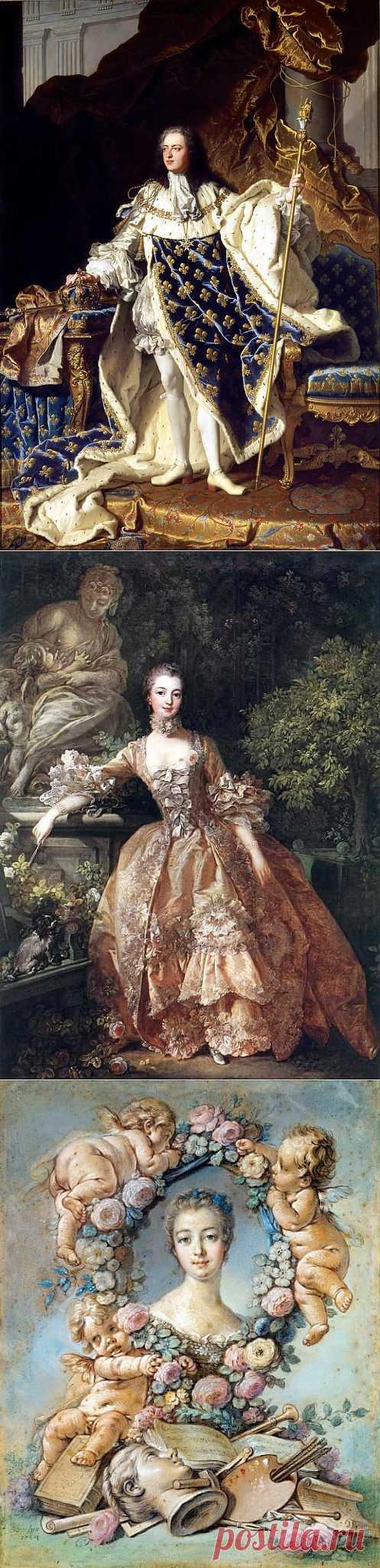 Маркиза де Помпадур или некоронованная Королева Франции | Искусство