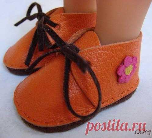 Выкройки обуви для куколок / Дизайн для всех!