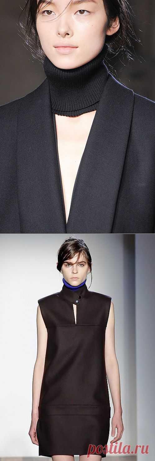 Воротничок от Вики Бекхэм / Воротнички / Модный сайт о стильной переделке одежды и интерьера