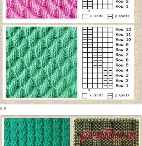 Любите вязать спицами? Для вас 325 образцов вязания со схемами - моя большая подборка | МНЕ ИНТЕРЕСНО | Яндекс Дзен