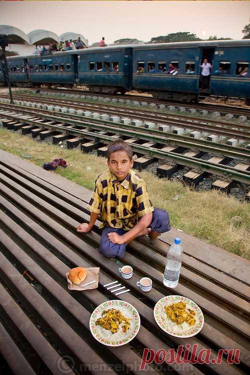Что едят обычные люди в разных странах мира . Милая Я