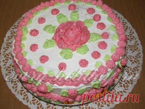"""Торт безе """"Воздушный замок"""""""