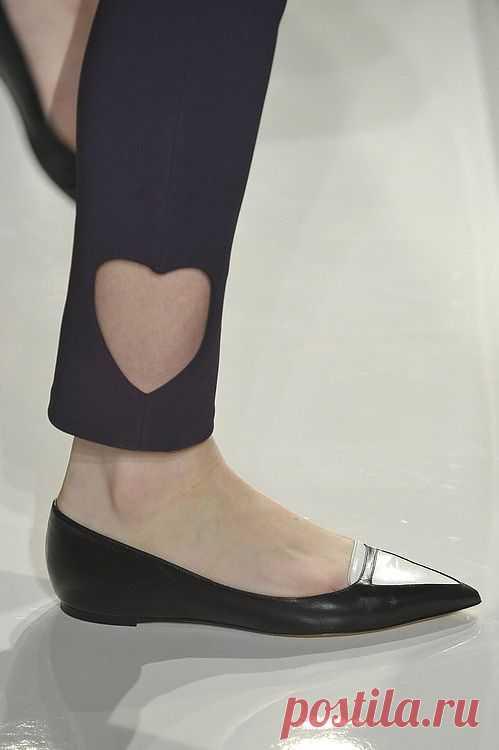 Cердце на лодыжке / Брюки / Модный сайт о стильной переделке одежды и интерьера