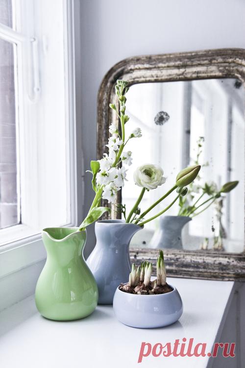 Красивые гармоничные вазочки