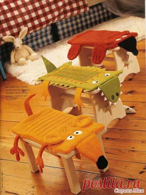 Чехол на стул для дочки - Игрушки своими руками - Страна Мам
