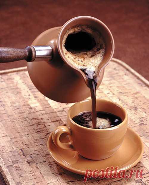 О пользе кофе.