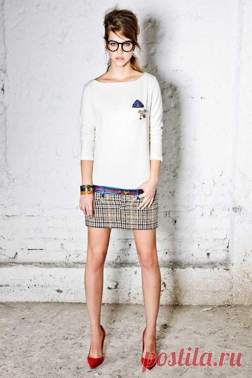 Платье из экстра-мини юбки Dsquared² / Платья Diy / Модный сайт о стильной переделке одежды и интерьера