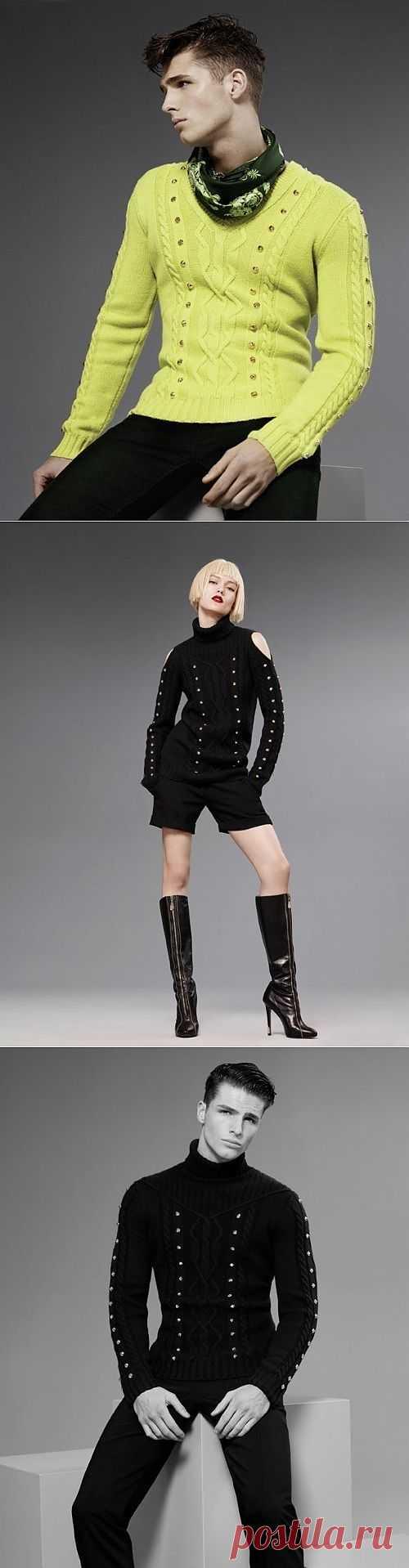 Три свитера с оригинальным декором / Свитер / Модный сайт о стильной переделке одежды и интерьера