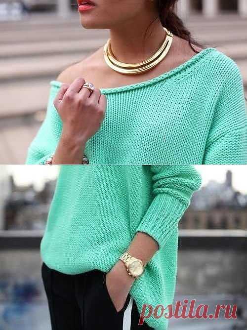 Пуловер. Идея.