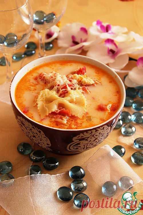 Итальянский куриный суп. Автор: NataliaNik