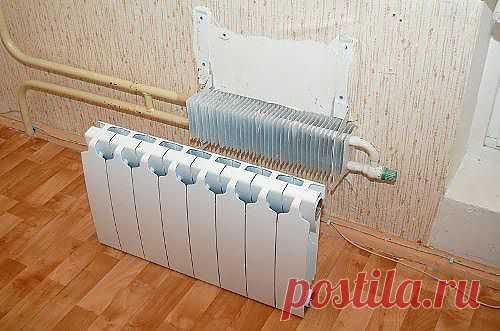 Замена радиатора отопителя на кухне в квартире