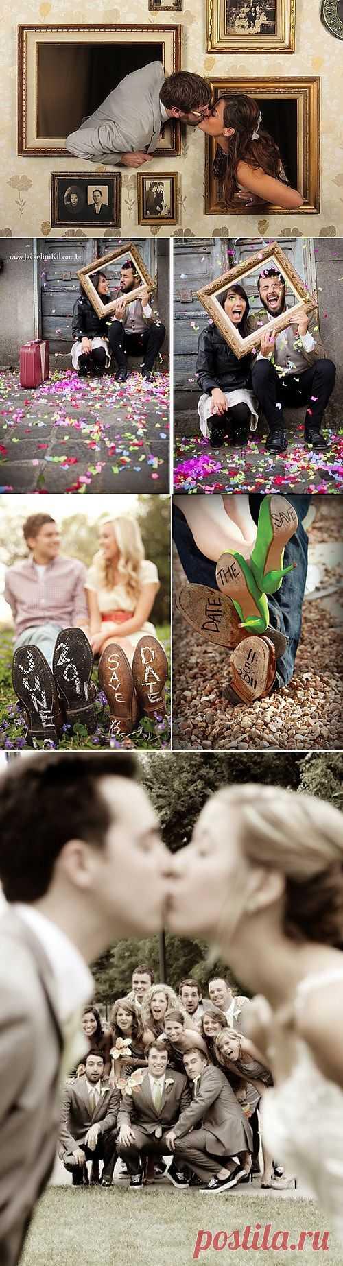 Идеи свадебных фото и не только... (подборка) / Фото (идеи съемок) / Модный сайт о стильной переделке одежды и интерьера