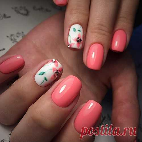 Модный весенний дизайн ногтей 25-25 - фото идеи весенний ...