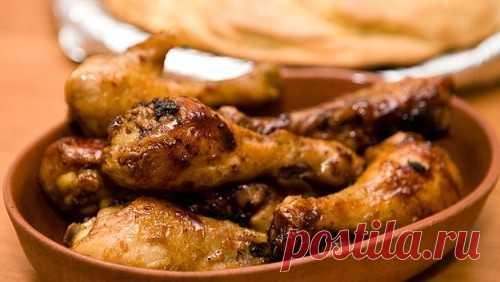 Куриные голени в медово-хмельном соусе / Простые рецепты