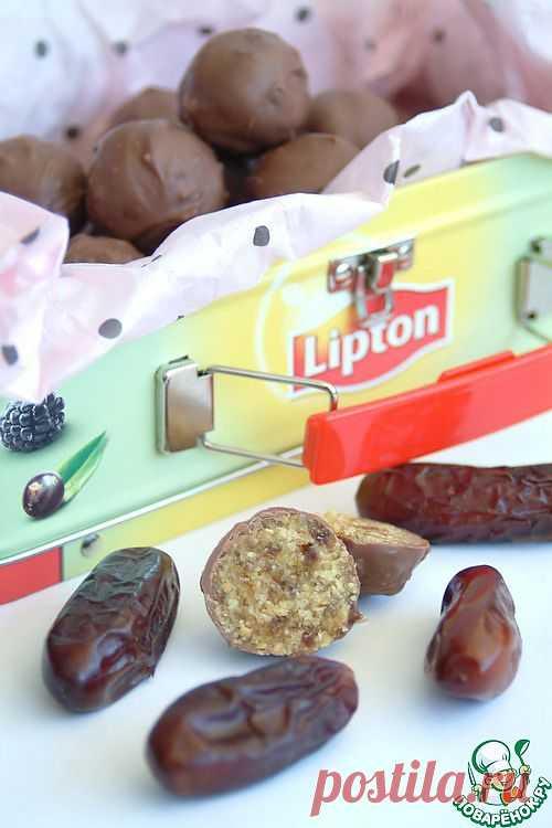 Марципановые конфеты из... нута. Автор: chudo