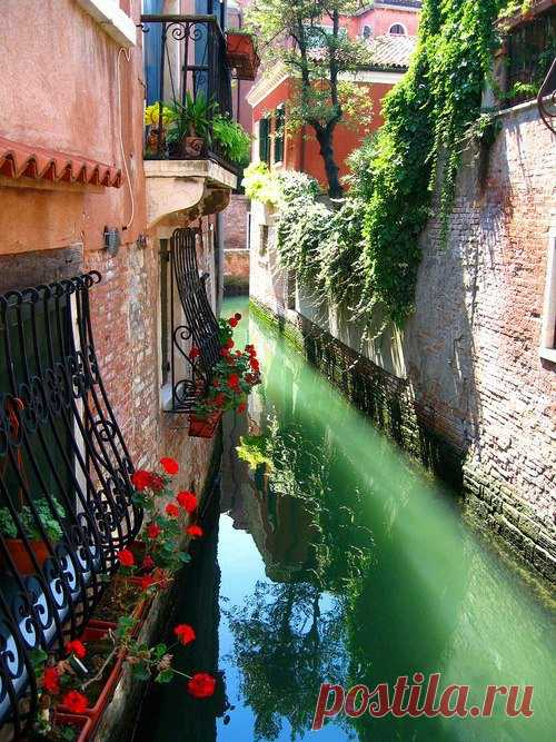 Los lugares hermosos de Venecia, Italia