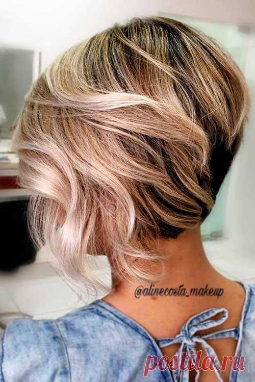Top 20 peinados en el estilo Bob. Tal peinado refresca la imagen y da al refinamiento. Si buscáis el peinado moderno esto el haba esto que le es necesario.