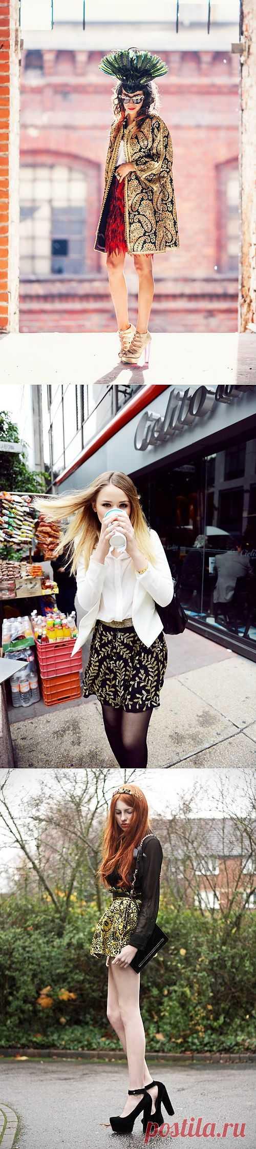 Барочное воспитание-3. Королевы улиц / Как носить? / Модный сайт о стильной переделке одежды и интерьера