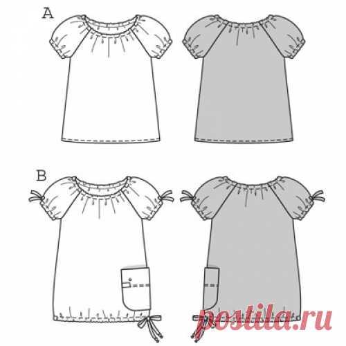 3e8e7959e53 блузка с рукавом фонарик для девочки выкройка  24 тыс изображений найдено в  Яндекс.Картинках