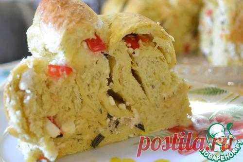 Болгарский пирог с брынзой.