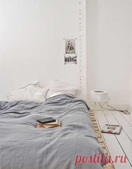 Постель на поддонах / Спальня / Модный сайт о стильной переделке одежды и интерьера