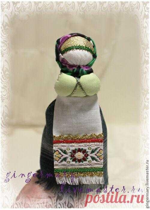 МК Кукла на ложке. На севере, в Архангельской губернии была распространена игровая кукла на ложке.