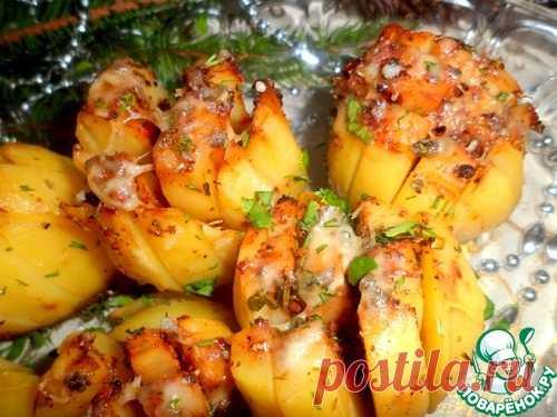 Картофель на праздничный стол - кулинарный рецепт
