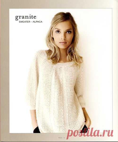Нежный пуловер из альпаки | Ниточки-клубочки | Яндекс Дзен