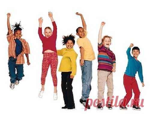 Упражнения для детей. Комплекс упражнений в картинках.