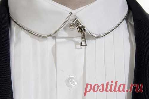 Воротничок с молнией / Воротнички / Модный сайт о стильной переделке одежды и интерьера