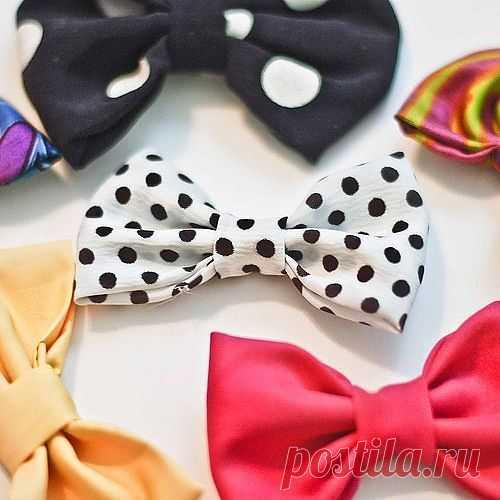 Галстук-бабочка за 5 минут. / Аксессуары (не украшения) / Модный сайт о стильной переделке одежды и интерьера
