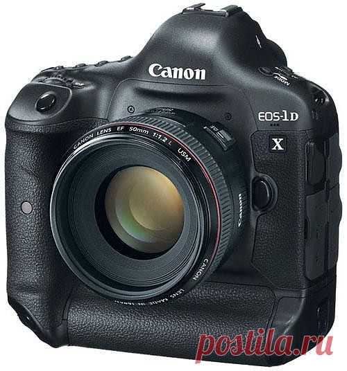 Canon готовит зеркалку с сенсором на 75 Мп