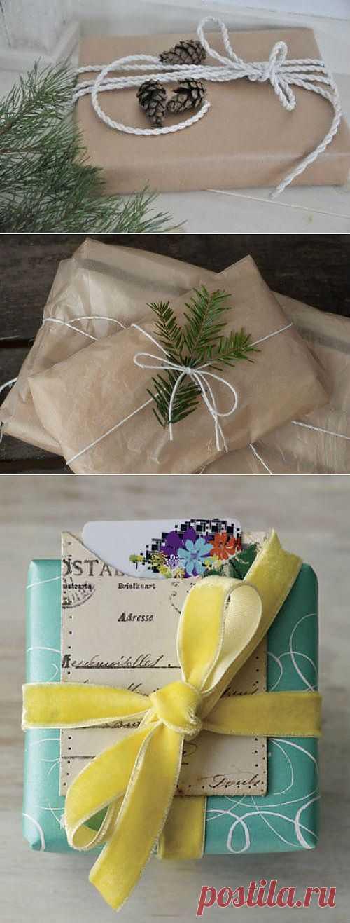 Готовимся к Новому Году / Упаковка подарков / Модный сайт о стильной переделке одежды и интерьера