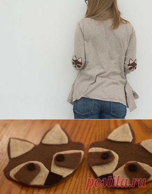 Заплатки-еноты DIY / Пэчворк / Модный сайт о стильной переделке одежды и интерьера